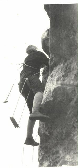 Henryk Mierzejewski bunkry w Czosnowie 1966